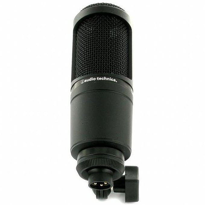 Audio Technica AT2020 Cardioid Condenser Microphone – Zeal